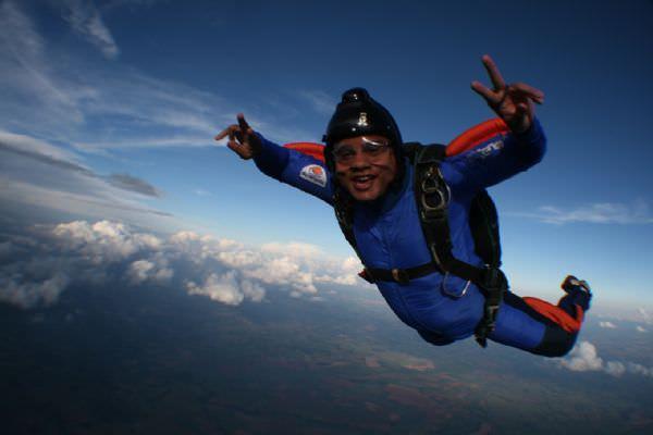 Atleta de paraquedismo