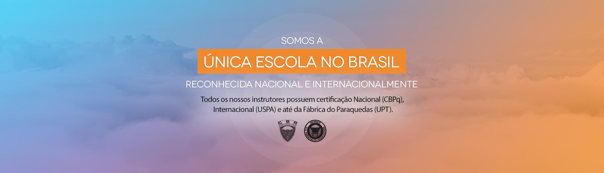 Única escola do Brasil