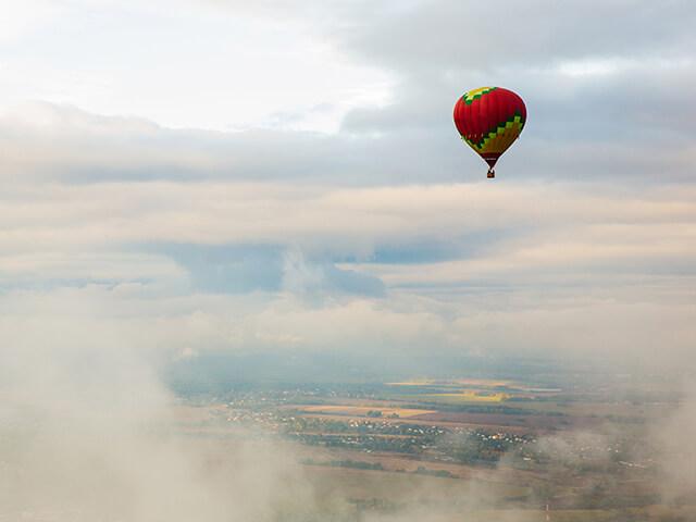 Balão no ar