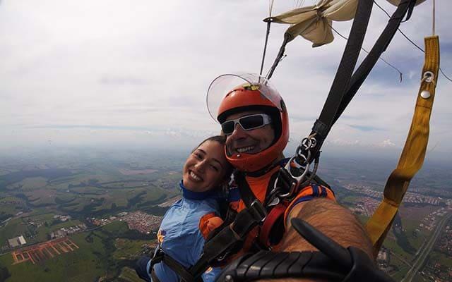 Saltar de paraquedas no fim de semana