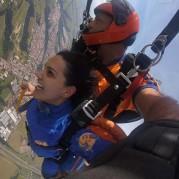 Salto de paraquedas em São Paulo