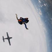 Paraquedista em Boituva