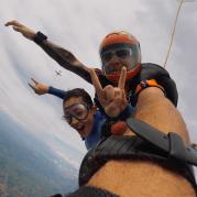 Recordistas no paraquedismo