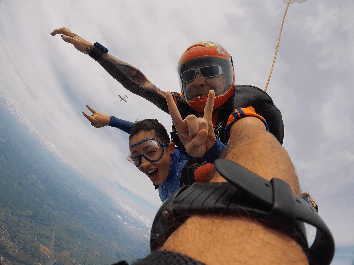 Principais recordes dos paraquedistas brasileiros
