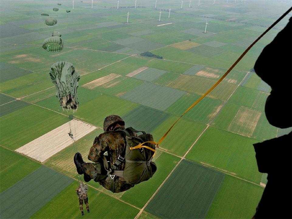 Como é a vida de um paraquedista do exército?