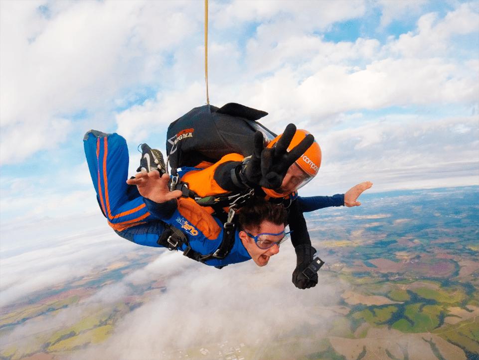 O homem e o ar: 5 atividades no céu!