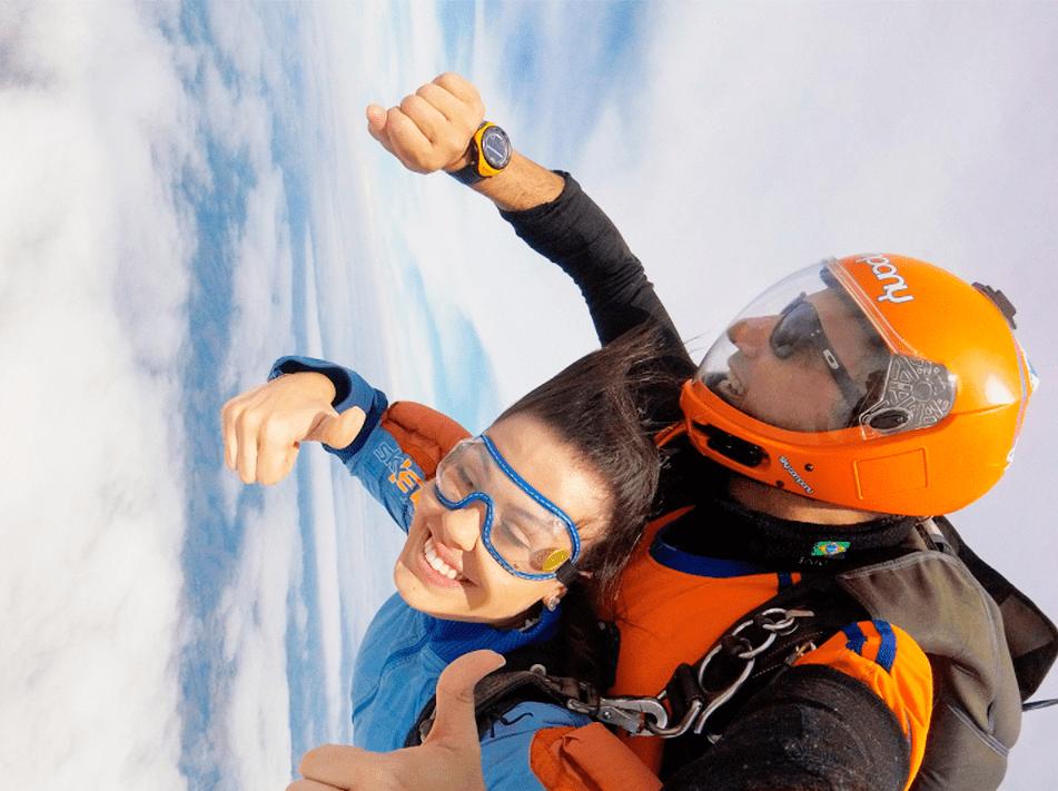 Criança pode saltar de paraquedas? Descubra!