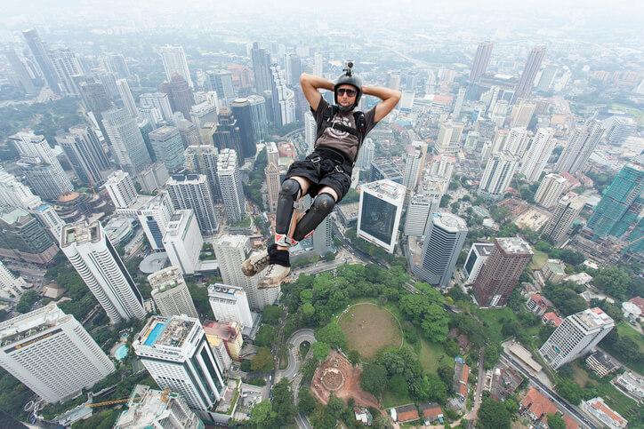 base jump esporte