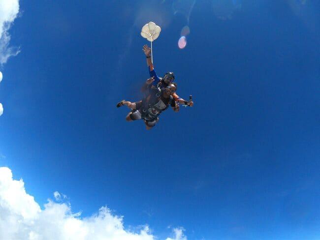 Estações para saltar de paraquedas