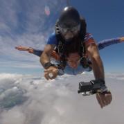 Câmeras para salto de paraquedas