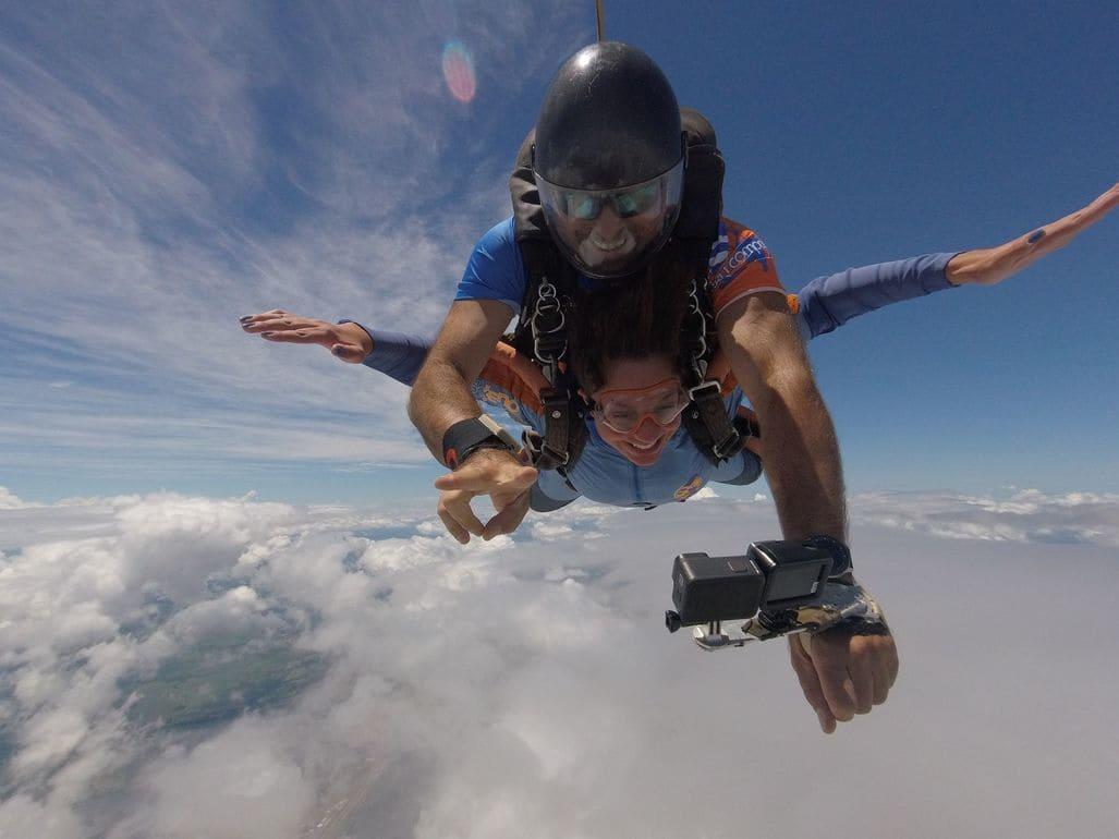 6 curiosidades sobre as câmeras para salto de paraquedas