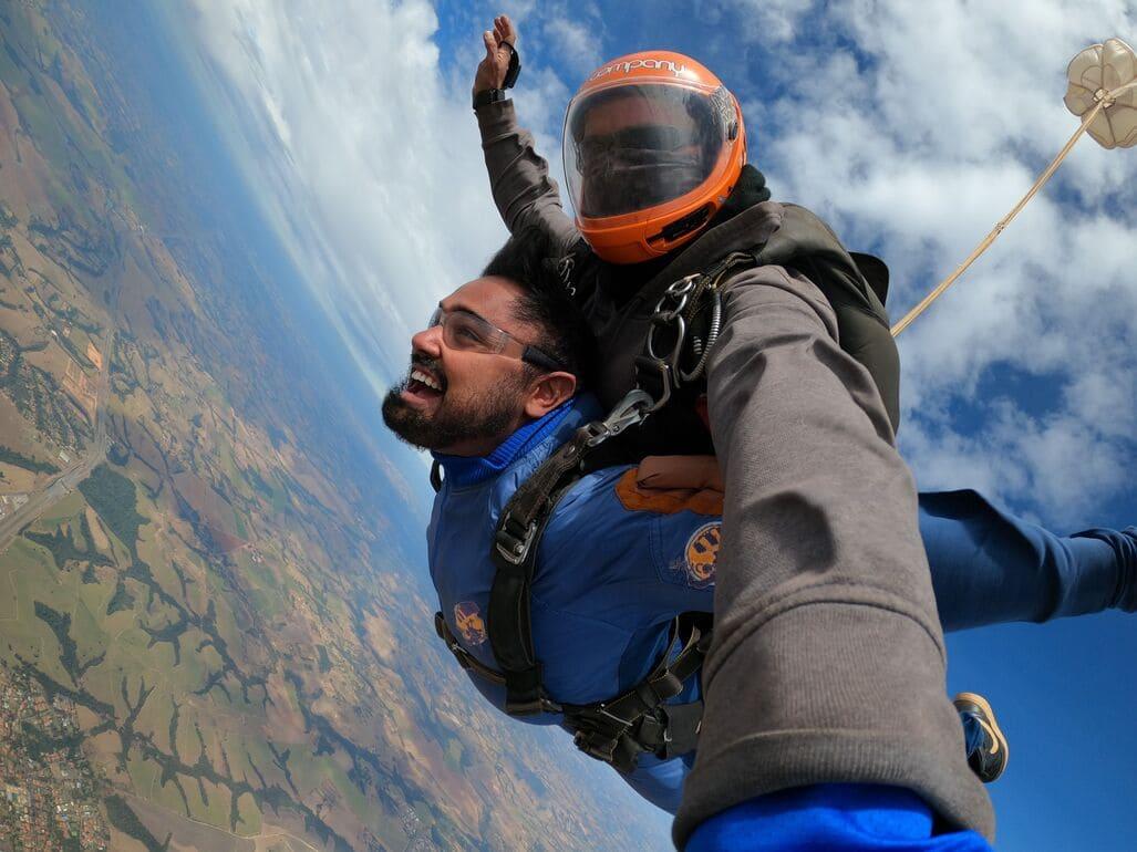 Dicas para planejar seu primeiro salto de paraquedas